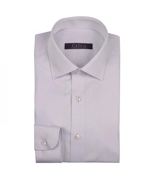 Camicia Uomo Cassera in twill di puro cotone, classic fit